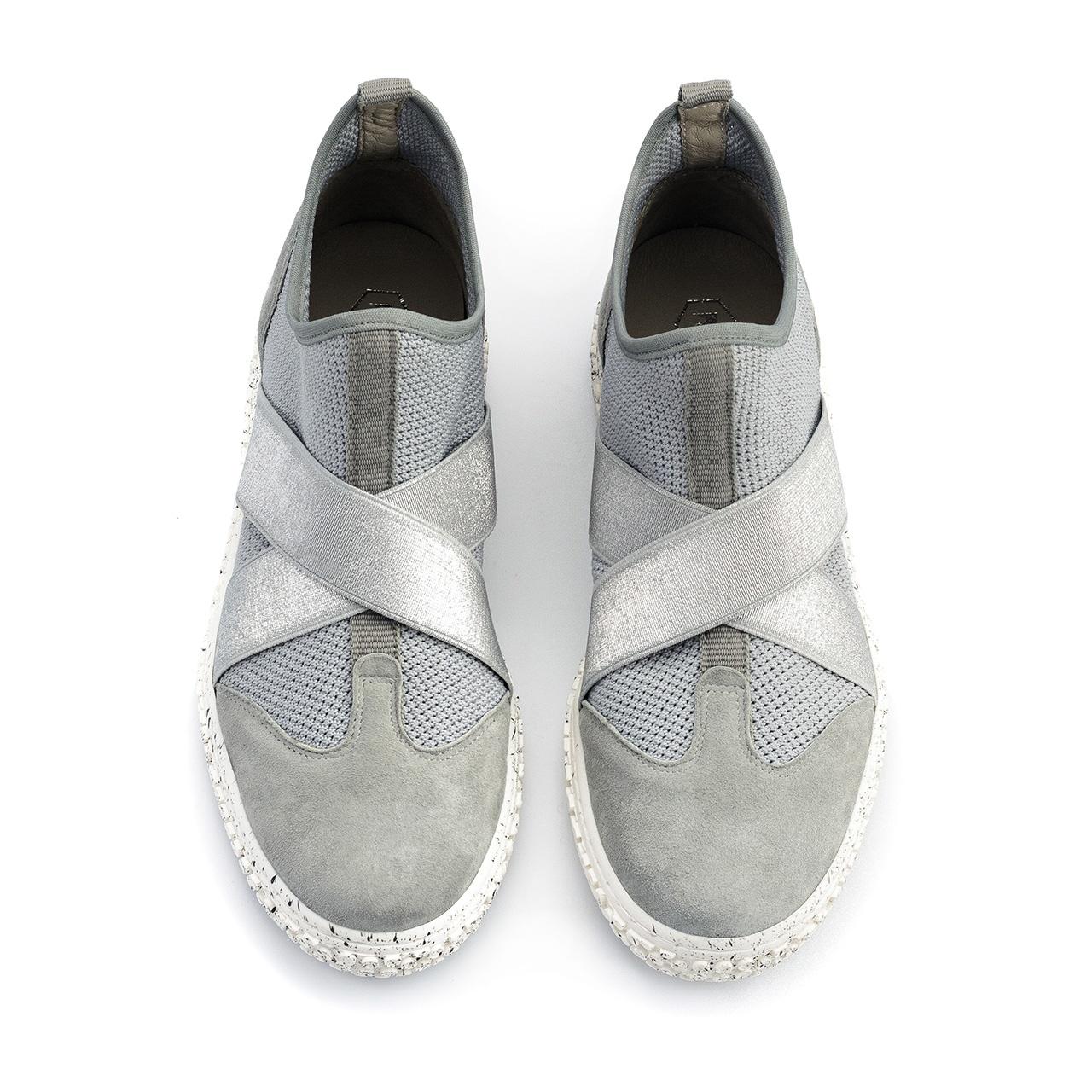 Sportowe siwe buty socks z gumkami 76G Neścior Sklep Firmowy