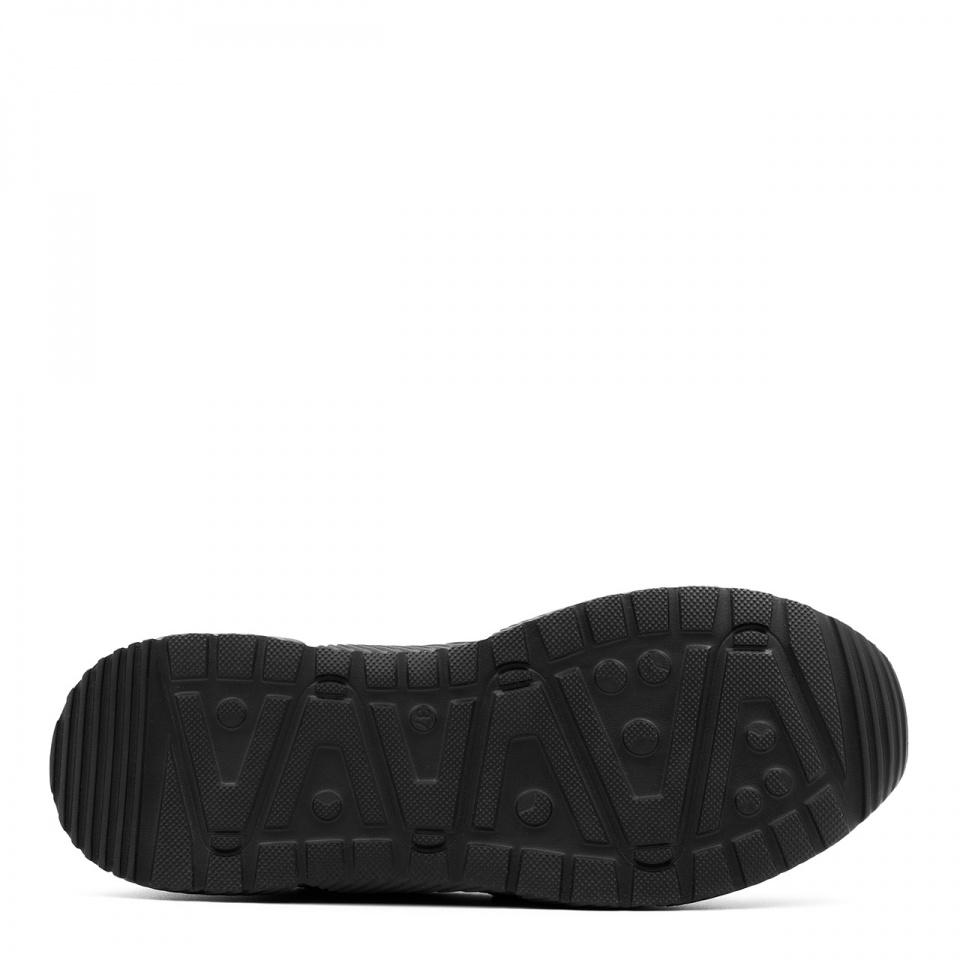 Sportowe pudrowe sneakersy typu chunky  256A