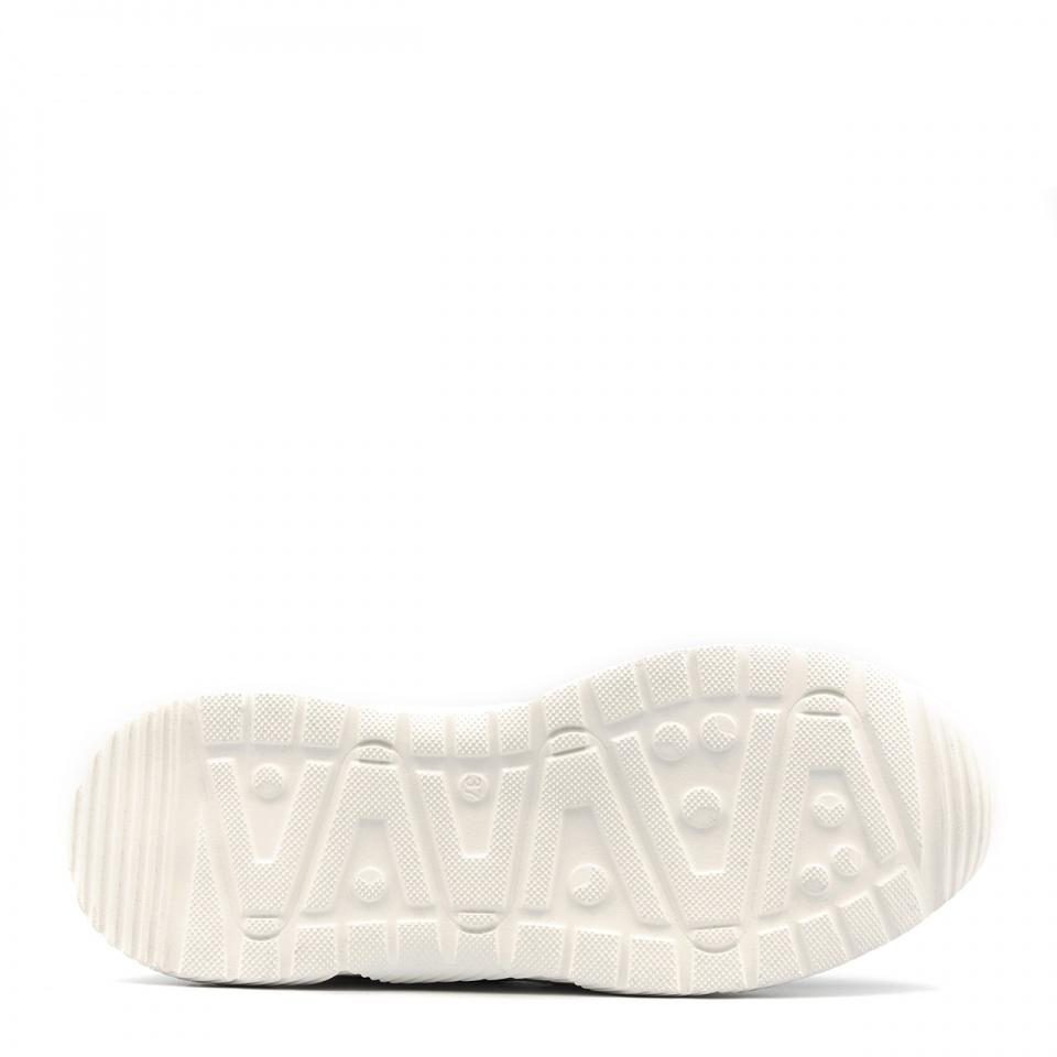 Sportowe czarne sneakersy typu chunky 256A