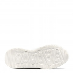 Sportowe białę sneakersy typu chunky 256A